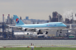 yabyanさんが、羽田空港で撮影した大韓航空 747-4B5の航空フォト(飛行機 写真・画像)