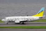 yabyanさんが、羽田空港で撮影したAIR DO 737-54Kの航空フォト(飛行機 写真・画像)