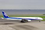 yabyanさんが、羽田空港で撮影した全日空 777-381の航空フォト(写真)