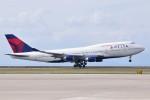apphgさんが、中部国際空港で撮影したデルタ航空 747-451の航空フォト(写真)