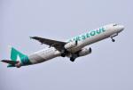 mojioさんが、静岡空港で撮影したエアソウル A321-231の航空フォト(飛行機 写真・画像)