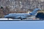Dojalanaさんが、函館空港で撮影したDALERIDGE ROAD AVIATION INC BD-100 Challenger 300/350の航空フォト(写真)