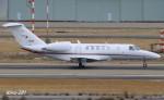 RINA-281さんが、小松空港で撮影した国土交通省 航空局 525C Citation CJ4の航空フォト(写真)