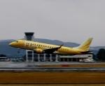 ザキヤマさんが、熊本空港で撮影したフジドリームエアラインズ ERJ-170-200 (ERJ-175STD)の航空フォト(写真)