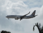 ✈︎Love♡ANA✈︎さんが、シンガポール・チャンギ国際空港で撮影したミャンマー・ナショナル・エアウェイズ 737-86Nの航空フォト(写真)