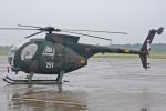 MOR1(新アカウント)さんが、小松空港で撮影した陸上自衛隊 OH-6Dの航空フォト(写真)