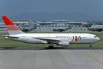 Gambardierさんが、名古屋飛行場で撮影した日本トランスオーシャン航空 767-246の航空フォト(写真)