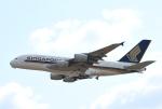 kix-booby2さんが、関西国際空港で撮影したシンガポール航空 A380-841の航空フォト(写真)