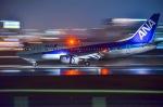 Sou Mitaniさんが、伊丹空港で撮影したANAウイングス 737-54Kの航空フォト(写真)