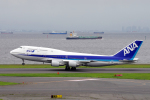yabyanさんが、羽田空港で撮影した全日空 747-481(D)の航空フォト(写真)