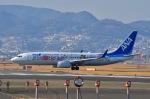 Sou Mitaniさんが、伊丹空港で撮影した全日空 737-881の航空フォト(写真)