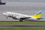 yabyanさんが、羽田空港で撮影したAIR DO 737-54Kの航空フォト(写真)