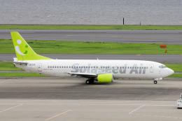 yabyanさんが、羽田空港で撮影したソラシド エア 737-4Y0の航空フォト(飛行機 写真・画像)
