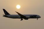planetさんが、スワンナプーム国際空港で撮影したLOTポーランド航空 787-8 Dreamlinerの航空フォト(写真)