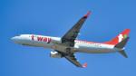 パンダさんが、成田国際空港で撮影したティーウェイ航空 737-83Nの航空フォト(写真)