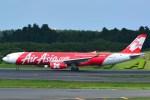 Cherry blossoms さんが、成田国際空港で撮影したインドネシア・エアアジア・エックス A330-343Xの航空フォト(写真)