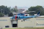 yabyanさんが、名古屋飛行場で撮影した鳥取県警察 AW109SPの航空フォト(写真)