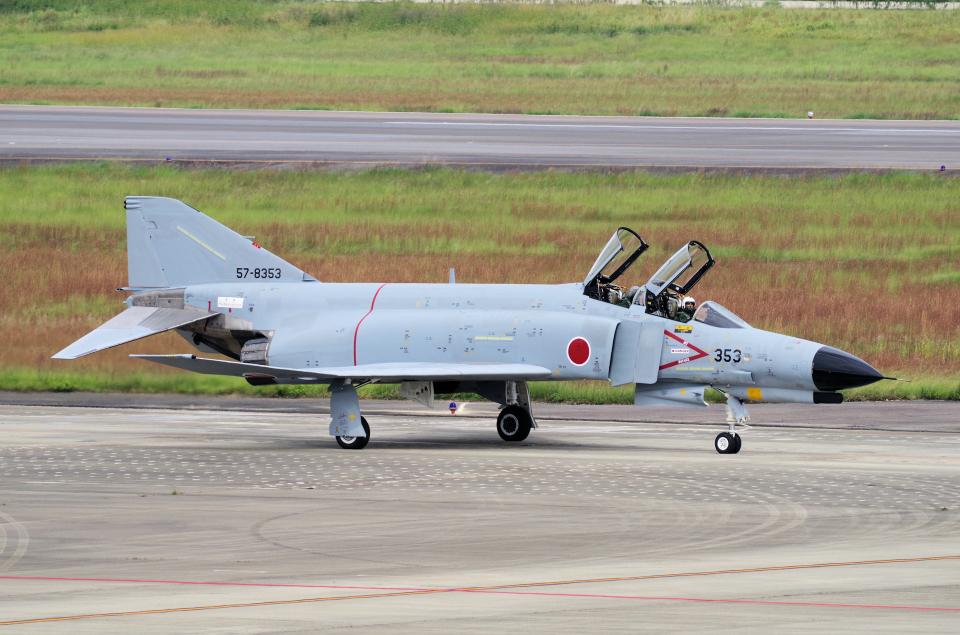 yabyanさんの航空自衛隊 Mitsubishi F-4EJ Phantom II (57-8353) 航空フォト