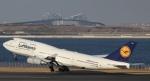 Kazuki_Japanさんが、羽田空港で撮影したルフトハンザドイツ航空 747-430の航空フォト(写真)