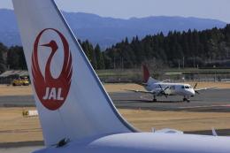 F.Kaito.⊿46さんが、鹿児島空港で撮影した日本エアコミューター 340Bの航空フォト(写真)