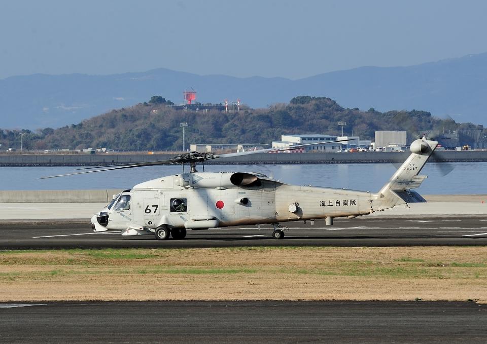 じーく。さんの海上自衛隊 Mitsubishi SH-60J (8267) 航空フォト