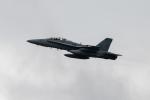 チャッピー・シミズさんが、嘉手納飛行場で撮影したアメリカ海兵隊 F/A-18F Super Hornetの航空フォト(写真)