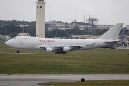 チャッピー・シミズさんが、嘉手納飛行場で撮影したカリッタ エア 747-4B5F/SCDの航空フォト(写真)