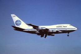 tassさんが、成田国際空港で撮影したパンアメリカン航空 747SP-21の航空フォト(写真)