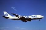 tassさんが、成田国際空港で撮影したパンアメリカン航空 747-212Bの航空フォト(写真)