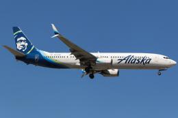 BOSTONさんが、フェアバンクス国際空港で撮影したアラスカ航空 737-990/ERの航空フォト(写真)