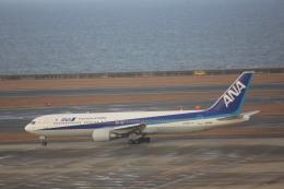 meijeanさんが、中部国際空港で撮影した全日空 767-381/ERの航空フォト(飛行機 写真・画像)