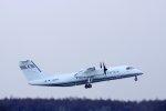 kitayocchiさんが、新千歳空港で撮影した国土交通省 航空局 DHC-8-315Q Dash 8の航空フォト(写真)