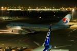 飛行機ゆうちゃんさんが、羽田空港で撮影した大韓航空 747-4B5の航空フォト(写真)