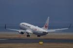 akinarin1989さんが、北九州空港で撮影した日本航空 737-846の航空フォト(写真)