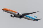 たかしさんが、成田国際空港で撮影したKLMオランダ航空 777-306/ERの航空フォト(飛行機 写真・画像)