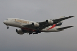 やつはしさんが、成田国際空港で撮影したエミレーツ航空 A380-861の航空フォト(写真)