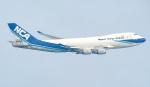 Seiiさんが、シンガポール・チャンギ国際空港で撮影した日本貨物航空 747-4KZF/SCDの航空フォト(写真)