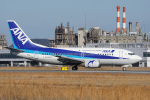 神宮寺ももさんが、松山空港で撮影したANAウイングス 737-5L9の航空フォト(写真)