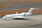 なごやんさんが、中部国際空港で撮影したユタ銀行 Gulfstream G650 (G-VI)の航空フォト(写真)