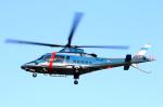 なごやんさんが、名古屋飛行場で撮影した福島県警察 A109E Powerの航空フォト(写真)
