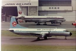 tassさんが、羽田空港で撮影した日本近距離航空 YS-11A-213の航空フォト(写真)