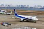 どらいすたーさんが、羽田空港で撮影した全日空 777-281/ERの航空フォト(写真)