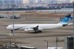 ハム太郎。さんが、羽田空港で撮影したイラン・イスラム共和国政府 A340-313Xの航空フォト(写真)