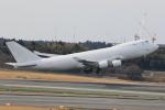 みるぽんたさんが、成田国際空港で撮影したウィルミントン・トラスト・カンパニー 747-4KZF/SCDの航空フォト(写真)