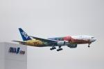はまゆきさんが、羽田空港で撮影した全日空 777-281/ERの航空フォト(写真)
