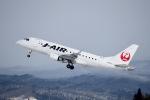 Gg55さんが、秋田空港で撮影したジェイ・エア ERJ-170-100 (ERJ-170STD)の航空フォト(写真)