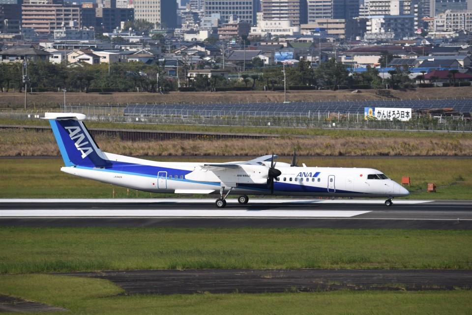 kumagorouさんのANAウイングス Bombardier DHC-8-400 (JA842A) 航空フォト