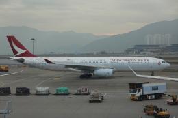 pringlesさんが、香港国際空港で撮影したキャセイドラゴン A330-342の航空フォト(写真)