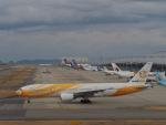 ガスパールさんが、関西国際空港で撮影したノックスクート 777-212/ERの航空フォト(写真)