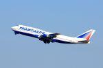 まいけるさんが、スワンナプーム国際空港で撮影したトランスアエロ航空 747-346の航空フォト(写真)